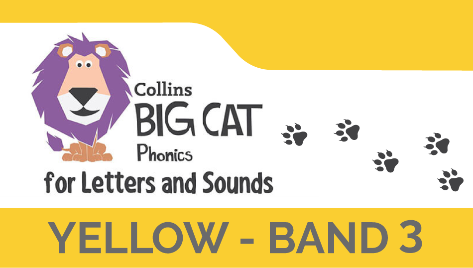 Yellow - Band 3 | Collins Big Cat Phonics for Letters and Sounds