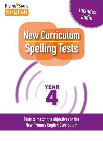 New Curriculum Spelling Tests Year 4