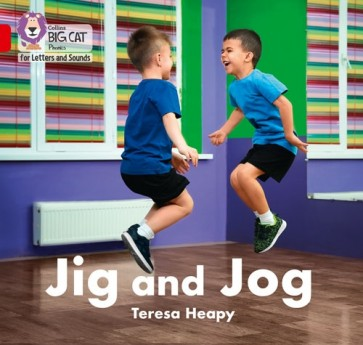 Collins Big Cat Phonics for Letters and Sounds - Jig and Jog : Band 2A/ Red