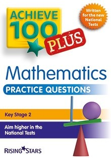 Achieve 100 Plus Maths Practice Questions Pack of 15 Pupils Books