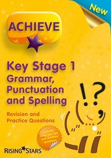 Achieve KS1 Grammar, Punctuation and Spelling Revision and Practice Questions, Pack of 15 Pupils Books
