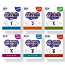 Rising Stars Arithmetic Practice Tests Whole-School Pack