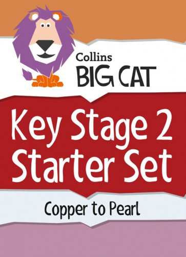 1C. Collins Big Cat Sets - Key Stage 2 Starter Set: Copper to Pearl - 124 titles