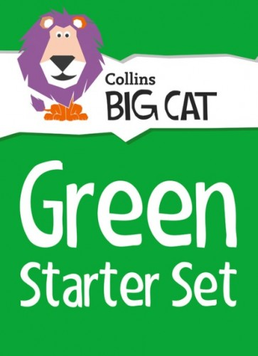 1K. Collins Big Cat Sets - Green Starter Set : Band 05/Green - 26 Titles