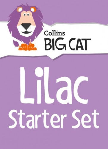 1D. Collins Big Cat Sets - Lilac Starter Set: Band 00/Lilac - 22 titles-20% Discount off all Big Cat Packs