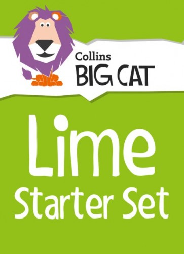 1Q. Collins Big Cat Sets - Lime Starter Set: Band 11/Lime - 18 titles