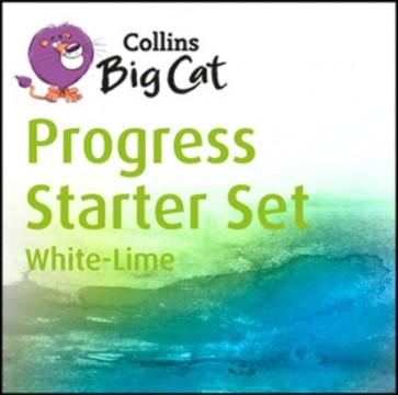 Collins Big Cat - Collins Big Cat Progress Starter Set: Band 10 White - Band 11 Lime
