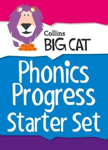 Collins Big Cat Sets - Phonics Progress Starter Set: Band 01A Pink - Band 04 Blue