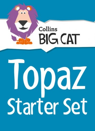 1S. Collins Big Cat Sets - Topaz Starter Set: Band 13/Topaz - 36 titles