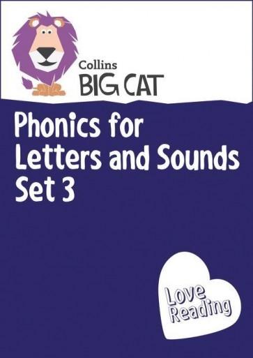 Collins Big Cat Sets - Phonics for Letters and Sounds Set 3
