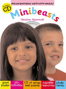 Foundation activity packs-Minibeasts