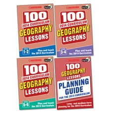 100 Geography Lessons for the 2014 Curriculum Set