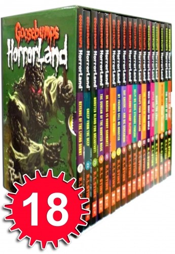 Goosebumps HorrorLand Series Collection 18 Books Set Pack - Accelerated Reader