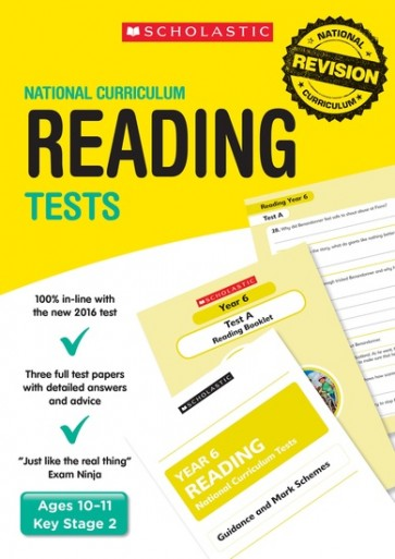National Curriculum Tests: Reading Tests Years 2-6 Set x 30 (150 books)