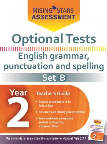 Optional Tests Grammar, Punctuation & Spelling Year 2 School Pack Set B