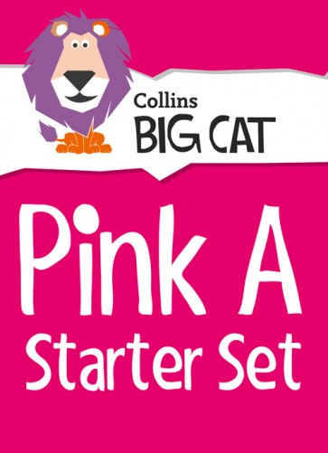 1E. Collins Big Cat - Pink A Starter Set: Band 01A/Pink A - 22 titles