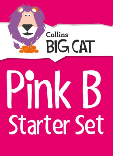 1F. Collins Big Cat - Pink B Starter Set: Band 01B/Pink B - 22 Titles