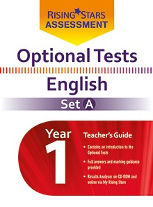 Optional Tests English Year 1 School Pack Set A