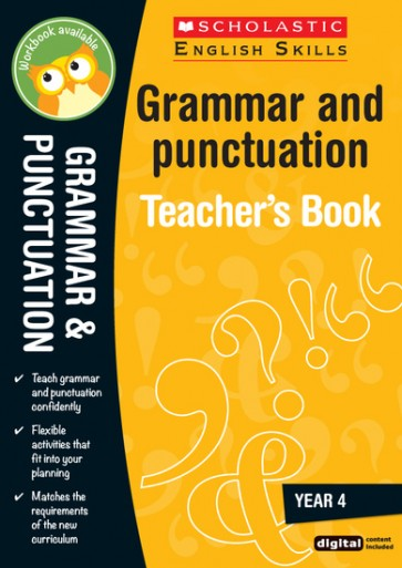 Scholastic English Skills: Grammar and Punctuation Teacher's Book (Year 4)