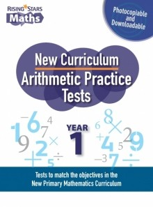 Rising Stars Arithmetic Practice Tests Year 1