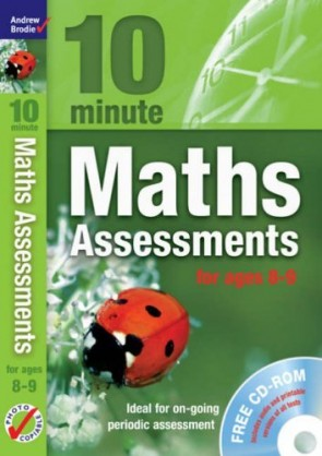 10 Minute Maths Assessments Ages 8-9
