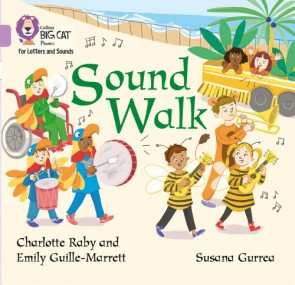 Collins Big Cat Phonics for Letters and Sounds - Sound Walk : Band 00/Lilac