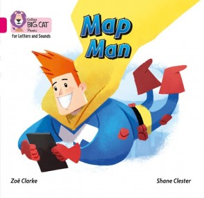 Collins Big Cat Phonics for Letters and Sounds - Map Man : Band 01A/Pink A