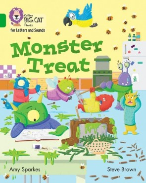 Collins Big Cat Phonics for Letters and Sounds - Monster Treat : Band 5/ Green