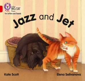 Collins Big Cat Phonics for Letters and Sounds - Jazz and Jet : Band 2A/ Red