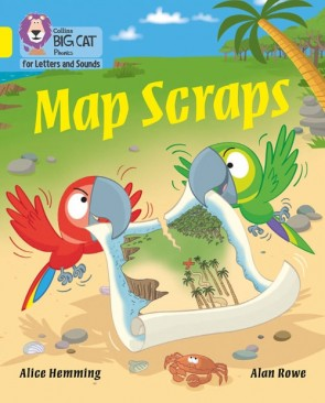 Collins Big Cat Phonics for Letters and Sounds - Map Scraps : Band 3/ Yellow