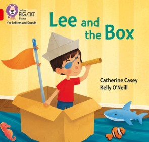 Collins Big Cat Phonics for Letters and Sounds - Lee and the Box: Band 2B/ Red