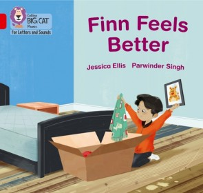 Collins Big Cat Phonics for Letters and Sounds - Finn Feels Better: Band 2B/ Red