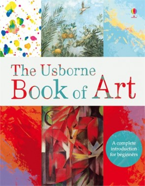 Art books - The Usborne book of art