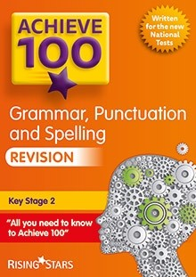 Achieve 100 Grammar, Punctuation and Spelling Revision Pack of 15 Pupils Books