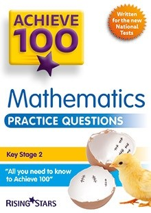Achieve 100 Maths Practice Questions Pack of 15 Pupils Books