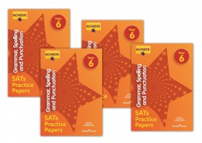 Achieve Grammar, Spelling and Punctuation SATs Practice Papers Year 6: 10 copy pack