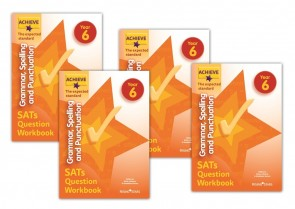 Achieve Grammar, Spelling and Punctuation SATs Question Workbook The Higher Score Year 6: 10 copy pack