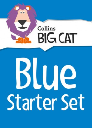 1J. Collins Big Cat - Collins Big Cat Blue Starter Set: Band 04/Blue - 34 Titles