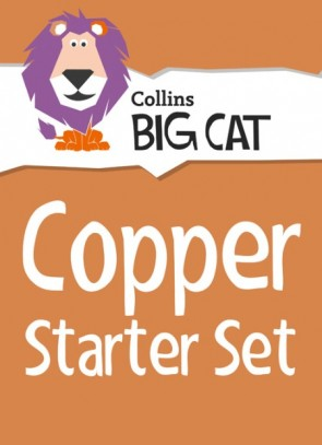 1R. Collins Big Cat Sets - Copper Starter Set: Band 12/Copper - New Pack of 36 Titles