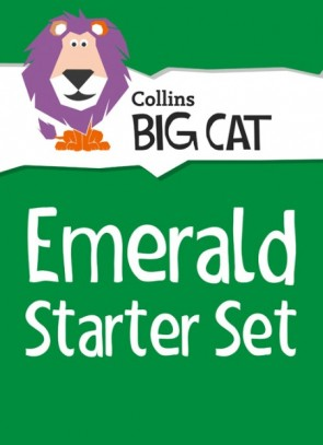 1U. Collins Big Cat Sets - Emerald Starter Set: Band 15/Emerald - 36 titles