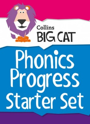 Collins Big Cat Sets - Phonics Progress Starter Set: Band 01A Pink - Band 04 Blue