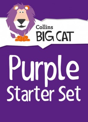 1N. Collins Big Cat Sets - Purple Starter Set: Band 08/Purple - 22 titles