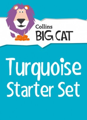 1M. Collins Big Cat Sets - Turquoise Starter Set: Band 07/Turquoise - 22 Titles