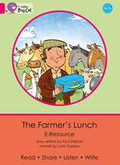 Collins Big Cat e-Resources Farmer's Lunch Band 1A