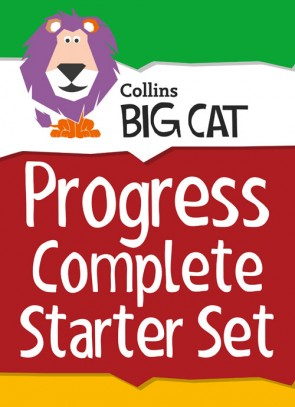 Collins Big Cat - Collins Big Cat Sets Progress Complete Starter Set: Band 03 Yellow - Band 11 Lime