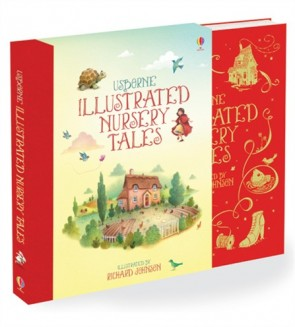 Clothbound nursery rhymes and tales - Illustrated nursery tales (giftbook with slipcase)