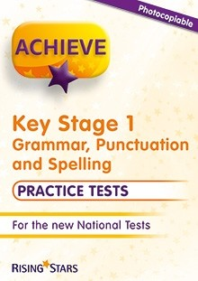 Achieve KS1 Grammar, Punctuation and Spelling Practice Tests