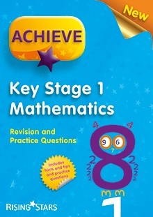 Achieve KS1 Mathematics Revision and Practice Questions Pack of 15 Pupils Books.