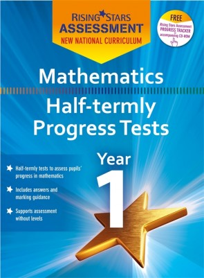 New Curriculum Rising Stars Assessment Mathematics Half-Termly Progress Tests KS1 Pack