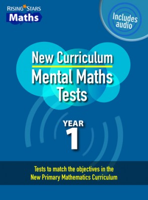Rising Stars Mental Maths Tests Year 1 - New Curriculum edition